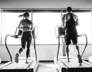 Getting Fit Inside Treadmill running